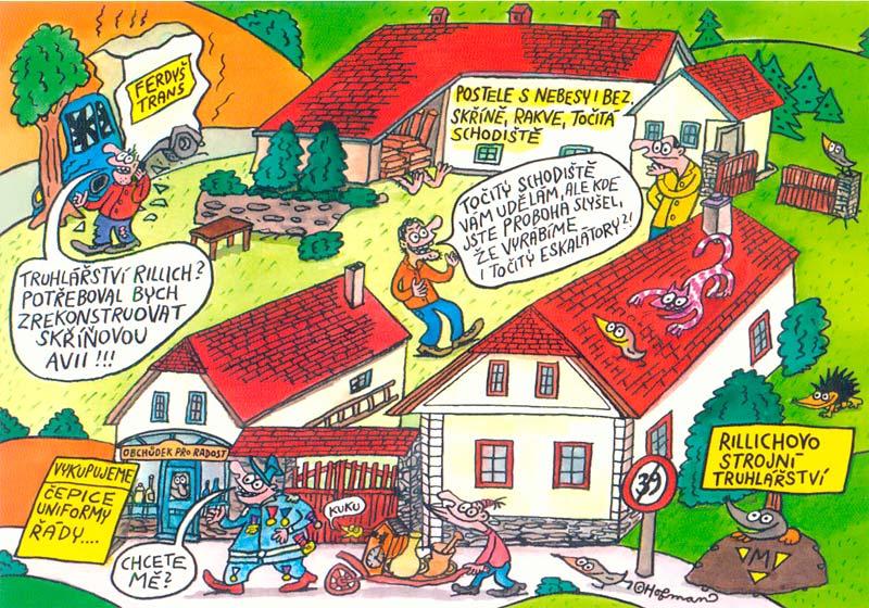Rillichovo strojní truhlářství Bukovany