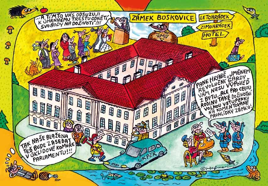 Boskovice - zámek title=