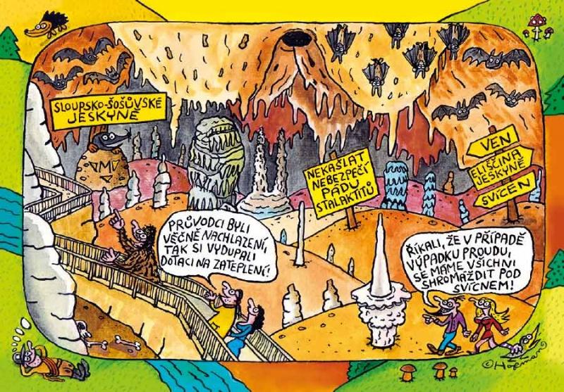 Sloupsko-šošůvské jeskyně title=